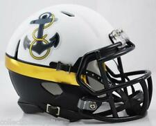 Navy Midshipmen Special 2012 Alternate Speed Mini Football Helmet
