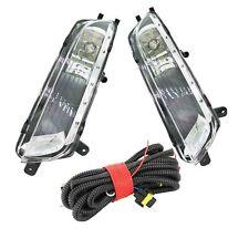 2Pcs For VW Passat CC 2013 2014 2015 2016 LED Fog Light Lamp Wire Harness