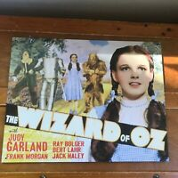Desperate Enterprises #1640 WIZARD OF OZ Metal Vintage Reproduction Movie Sign –