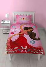 DISNEY ELENA DE AVALOR SIMPLE ENSEMBLE HOUSSE DE COUETTE FILLES ENFANTS ROSE