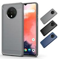 Carbon Slim Armour Shockproof Case Cover  for OnePlus 7T/ 7 Pro/8/8 Pro/Nord
