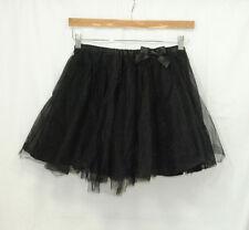 Gymboree Holiday Friends Girls Size 12 Black Tutu Skirt Twirl Elastic Waist
