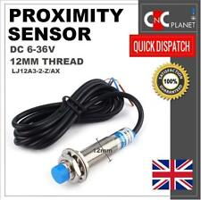 Inductive Proximity Sensor LJ12A3-2-Z/AX Metal Detecting NPN NC 3 Wire DC 6-36V