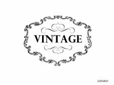 VinTaGe IMaGe SiGN LaBeL ShaBby WaTerSLiDe DeCALs FuRNiTuRe FL15