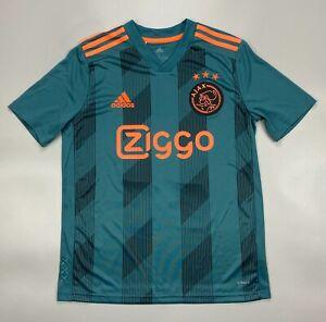 Ziyech Ajax 2019 2020 Away Football Soccer Shirt Jersey Camiseta Adidas EI7374