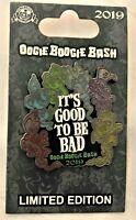 Disney Disneyland Oogie Boogie Bash It's Good to Be Bad Pin Halloween 2019 LE