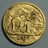 15 Rupien Deutsch-Ostafrika 1916 Elefant Kopie J.728a