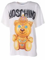 SS17 Moschino Couture Jeremy Scott Indian Crowned Teddy Bear Princess T-shirt