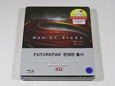 Man of Steel (3D+2D) Blu-ray Steelbook / Futurepak [Korea] OOS/OOP RARE