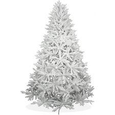 Künstlicher Weihnachtsbaum 240cm Nordmanntanne PE Spritzguss Edeltanne weiß;PW14