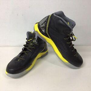 Air Jordan Future Flight Remix Basketball Sneakers Yellow/Black Size US 9.5 #324