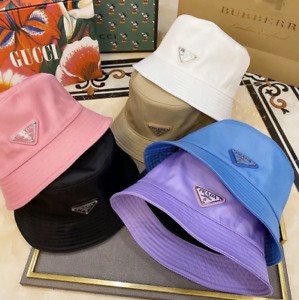 Pr---a-d-a Bucket Hat Cap Purple One Size Free Shipping Brand New Without Box!