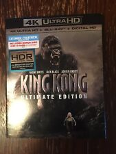 King Kong Ultimate Edition Blu-ray + 4K Ultra HD Jack Black Naomi Watts Jackson