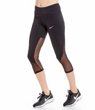 a0bf64de82b1 Nike Womens Black Yoga Fitness Running Athletic Leggings S BHFO 8430
