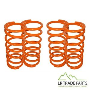 """LAND ROVER DEFENDER 90 & DISCOVERY 1 FRONT & REAR 1"""" LOWERING SPRING SET SPRINGS"""