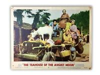 """""""THE TEAHOUSE OF THE AUGUST MOON"""" ORIGINAL 11X14 AUTHENTIC LOBBY CARD 1956"""