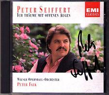 Peter SEIFFERT Signed Ich träume mit offenen Augen CD Lehar Dostal J. Strauss II