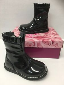 Lelli Kelly LK3312 Funny Infant Girls Boots In Black (Clearance Price)