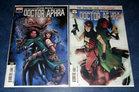 STAR WARS DOCTOR APHRA #7 1st & 2nd print MARVEL 1st app Wen Delphis Sixth Kin