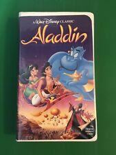 RARE Walt Disney Aladdin (VHS, 1993)
