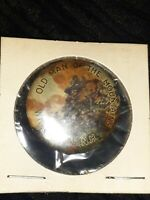 """New Hampshire Old Man Of The Mountain MULTI COLOR 1 1/4"""" CELLULOID Pin"""