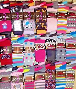 24 Pairs Christmas Gift Ladies Women Designer Socks Wholesale Job Lot Clearance