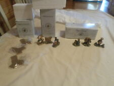 Boyds Village Accessories Lot #12 Set Of 3 Different Boxed Sets As Shown
