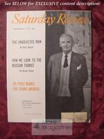 SATURDAY REVIEW November 1 1958 VISCOUNT MONTGOMERY Peter Viereck