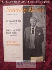 SATURDAY REVIEW November 1 1958 VISCOUNT MONTGOMERY Peter Viereck