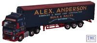 VOL01WF Oxford Diecast 1:76 Scale Volvo FH Walking Floor Alex Anderson