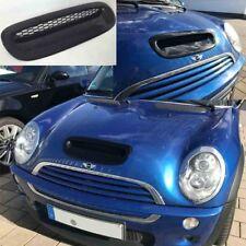 Prise D'Air Noir Brillant Capot Compatible avec MINI COOPER S R53 Cabriolet R52