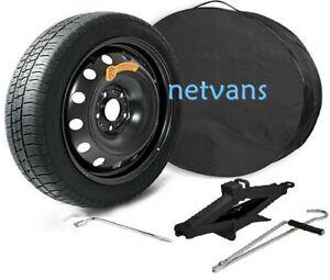 """kit rueda de repuesto galleta 17"""" para MAZDA CX-5 con gato llave y bolsa 71x15cm"""