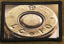 Lake City Federal 223 Bullet Brass Head Stamp Morale Patch Tactical Military USA