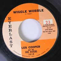 Soul 45 Les Cooper And The Soul Rockers - Wiggle Wobble / Dig Yourself On Everla