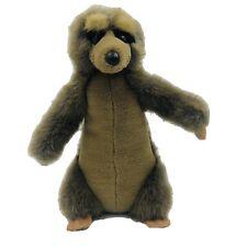 K&M Int Usa Brown Gray Meerkat 11 Inch Stuffed Animal Plush 1994