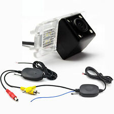 WIRELESS CAR REAR VIEW BACKUP CCD COLOR CAMERA FOR FORD MONDEO / FOCUS / FIESTA