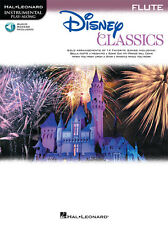"""""""Disney Classics"""" Instrumental Play-Along For Flute: Music Book/Audio Access-New"""