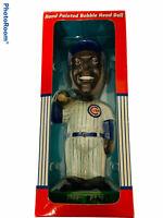 🔥 Ernie Banks • Chicago Cubs • Hand Painted Bobble Dobbles Head Bobblehead