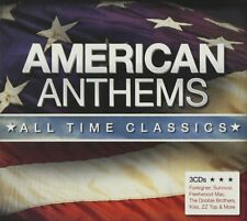 AMERICAN ANTHEMS ~ ALL TIME CLASSICS VARIOUS ARTISTS { NEW 3CD 57 TRACKS }
