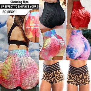 Women Butt Lift Anti-Cellulite Push Up Yoga Pants Fitness Gym Tik Tok Leggings 9
