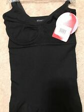 NWT Spanx Slim Cognito Full Slip Dress Style 392 Black Small Ret$98 NEW Slimming