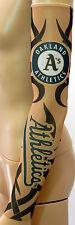 New! Oakland A's Athletics Tattoo Arm Sleeve Sun Block Nylon Baseball Digital