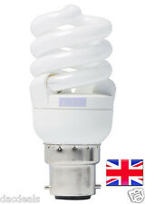 DAYLIGHT 6400K LOW ENERGY LIGHT BULB BC 11W = 60w SAD *FREE POST* UK STOCK