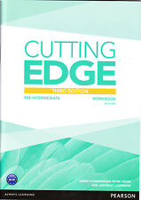 Pearson CUTTING EDGE Pre-Intermediate THIRD EDITION 2013 Workbook with Key @NEW@