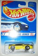 Yellow Ferrari 355 #10 of 12 1995 Hot Wheels Authentic Details Car 1:64 scale