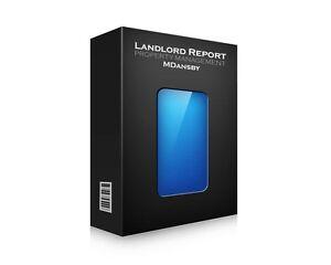 Property Management Software - Landlord Report (Macintosh/Windows)* 10 Units
