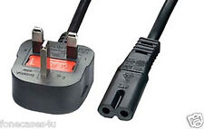 Figura 8 Mains Reino Unido 2 pin power cable de plomo cable con enchufe para las impresoras HP PSC Series