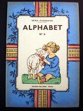 Vintage Imagerie Pellerin  Childrens book Alphabet No 2 Serie Ecossaise Inv1517