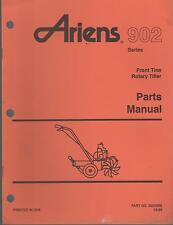 1996 ARIENS 902 FRONT TINE ROTARY TILLER PARTS MANUAL P/N 002459B (025)