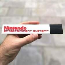 Nintendo Entertainment System logo fridge magnet/shelf display